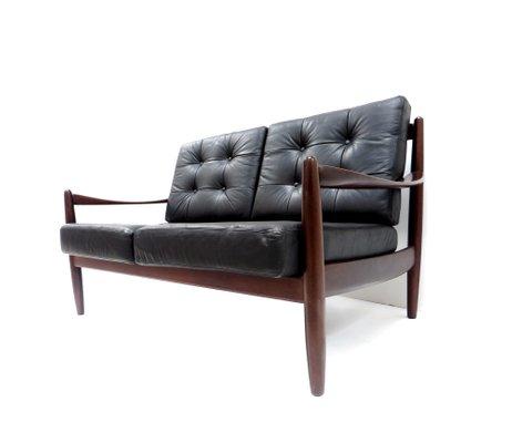 Danish Leather 2-Seater Sofa