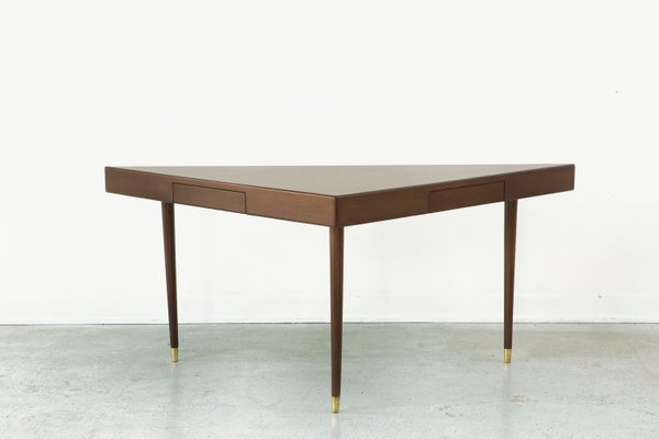 Triangular Sofa Table From Harvey Probber 1950s 1