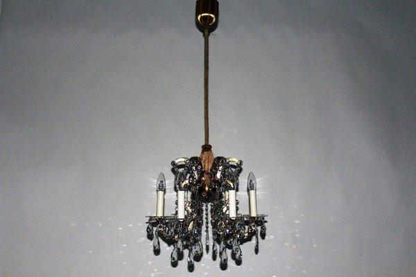 Kristall Kronleuchter Mit Schirm ~ Vintage kristall kronleuchter von lobmeyr bei pamono kaufen