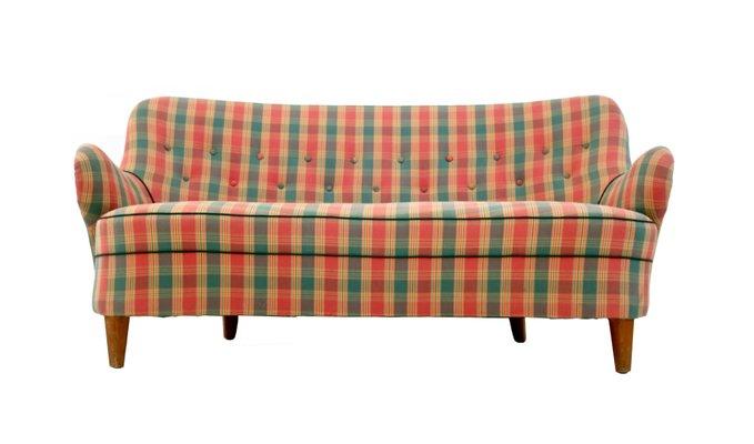 Italian Sofa 1950s 2