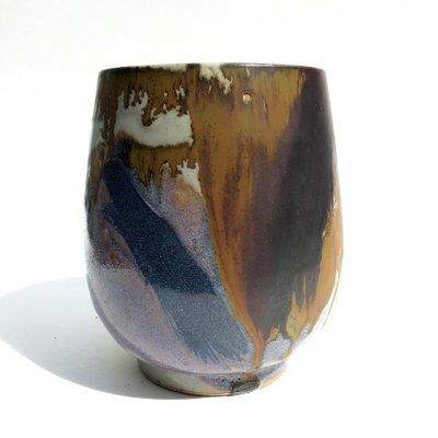 Vintage Cup Shaped Vase By Renate U0026 Hans Heckmann 2