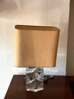 De Cristal Bureau Lampe Daum En France1960s nPkw8XN0O