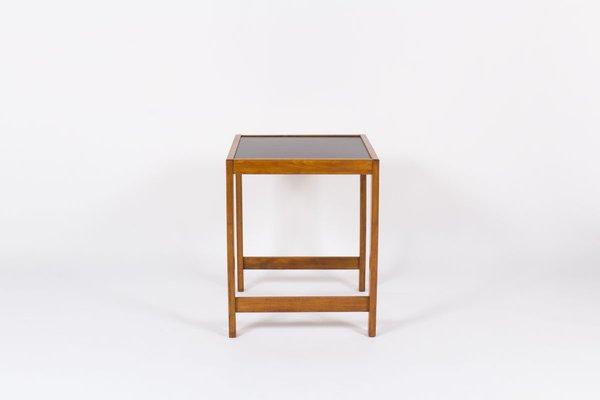 Petit bureau avec plateau laminé noir de andre sornay s en