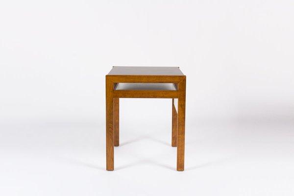 Petit bureau avec laminé noir et blanc par andre sornay s en