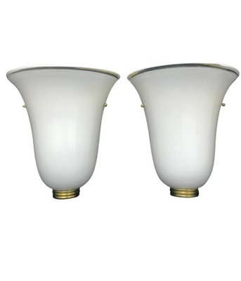 Murano Gl Wall Sconces 1960s Set Of 2 1