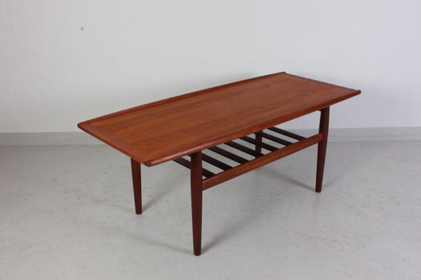 Superieur Mid Century Teak Coffee Table By Grete Jalk For Glostrup 2