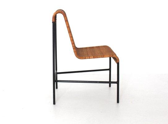 Pleasant Mid Century Modern Rattan Chair By Harold Cohen And Davis Pratt 1953 Machost Co Dining Chair Design Ideas Machostcouk