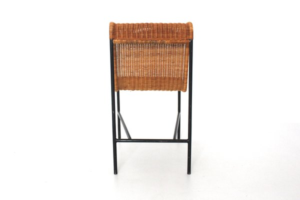 Surprising Mid Century Modern Rattan Chair By Harold Cohen And Davis Pratt 1953 Machost Co Dining Chair Design Ideas Machostcouk