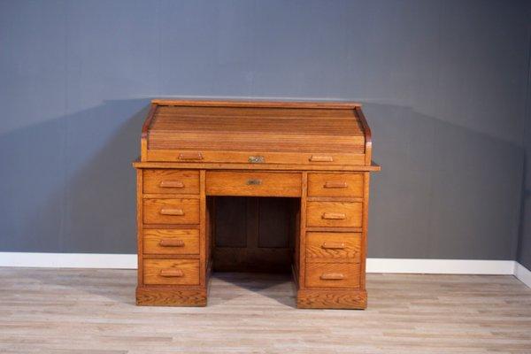 Large Bauhaus Office Desk 1920s 1 & Large Bauhaus Office Desk 1920s for sale at Pamono