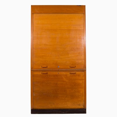 Vintage Cabinet With Tambour Door For Sale At Pamono