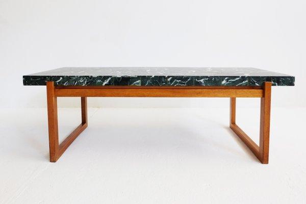Table Basse En Marbre Verte 1960s En Vente Sur Pamono