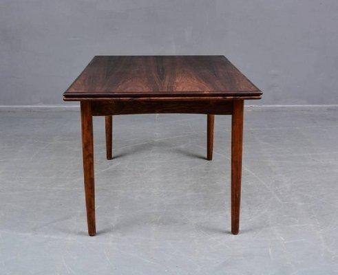 Danish Dining Table In Brazilian Rosewood 1960s