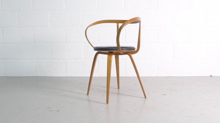Modell 5891 Pretzel Armlehnstuhl Von George Nelson Für Herman Miller,  1950er 2