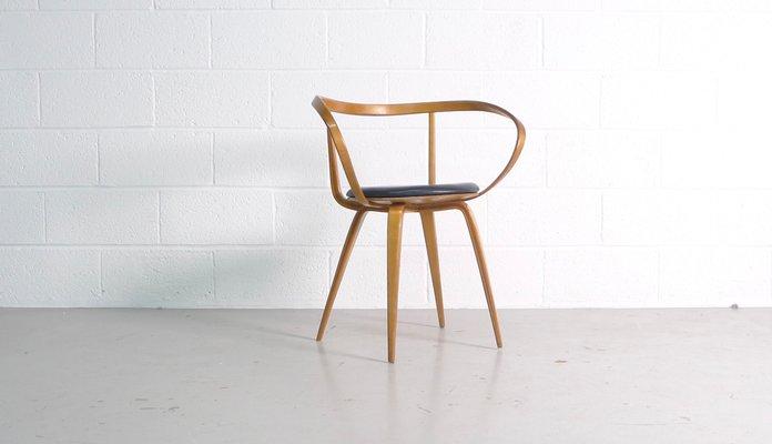Modell 5891 Pretzel Armlehnstuhl Von George Nelson Für Herman Miller,  1950er 1