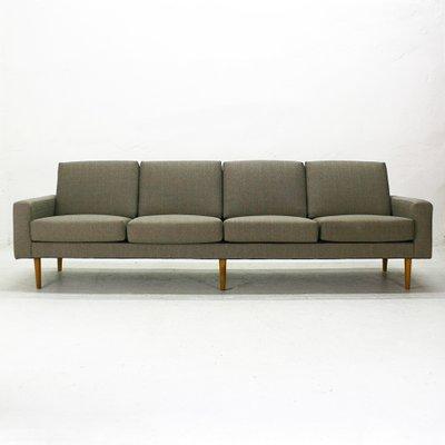 Ordinaire Mid Century Modern Four Seater Sofa 4