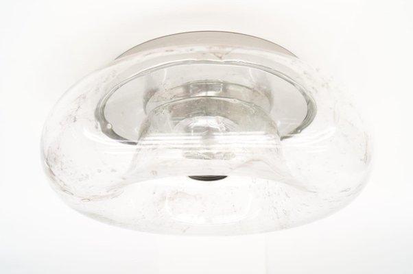 Donut wand oder deckenlampen aus glas von doria er er set