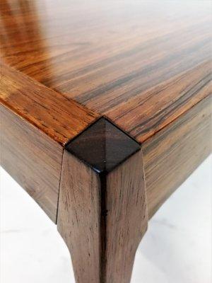 Merveilleux Vintage Rosewood Table By Johannes Andersen 2