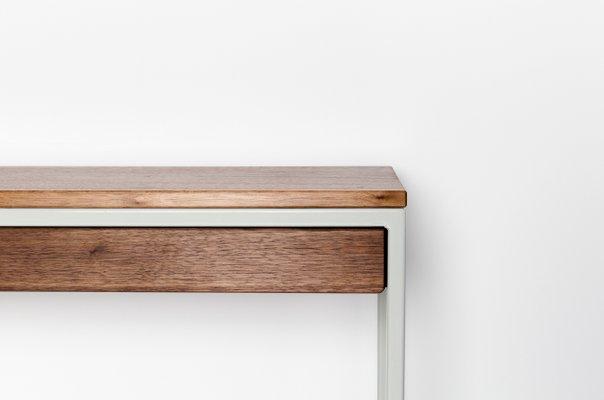 Consolle THORN | in legno di noce riciclato e acciaio di Johanenlies ...