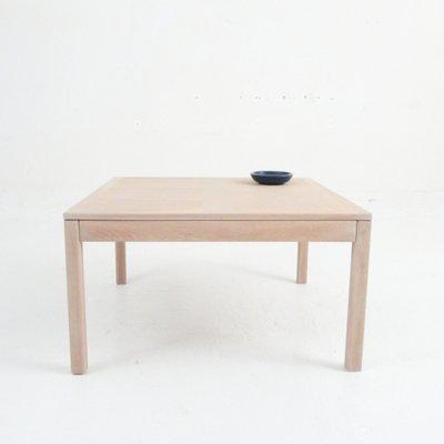 Vintage Square Coffee Table In Oak From Vejle Mobelfabrik