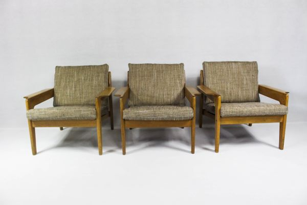 Vintage Danish Lounge Chair By Arne Wahl Iversen For Komfort 2