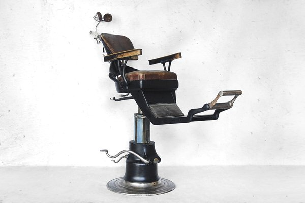 American Industrial Dental Chair from Ritter 1920s 2 & American Industrial Dental Chair from Ritter 1920s for sale at Pamono