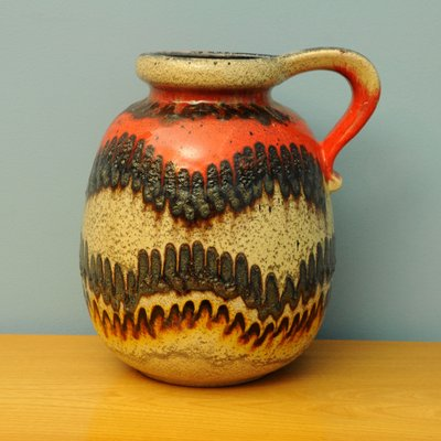 West German Pottery Vase 1960s For Sale At Pamono