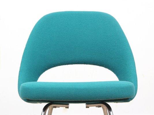 Scandinavian Executive Chairs By Eero Saarinen For Knoll, 1950s, Set Of 2 15
