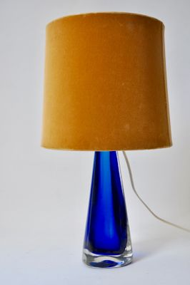 Blue Glass Table Lamp From Venini 1950s For Sale At Pamono