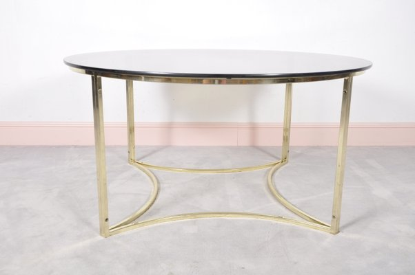 brass and glass coffee table. Mid-Century Brass \u0026 Glass Coffee Table 1 And