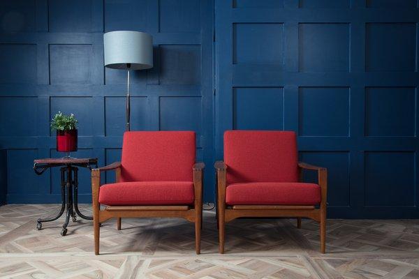 Schwedische Armlehnstühle Von Ulferts Fabriker, 1960er, 2er Set 1