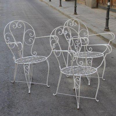 Set Sedie Da Giardino.Sedie Da Giardino Vintage Spagna Set Di 3 In Vendita Su Pamono