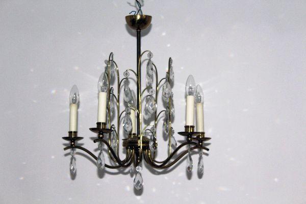 Kleiner Kronleuchter Weiß ~ Kronleuchter aus kristallglas er bei pamono kaufen