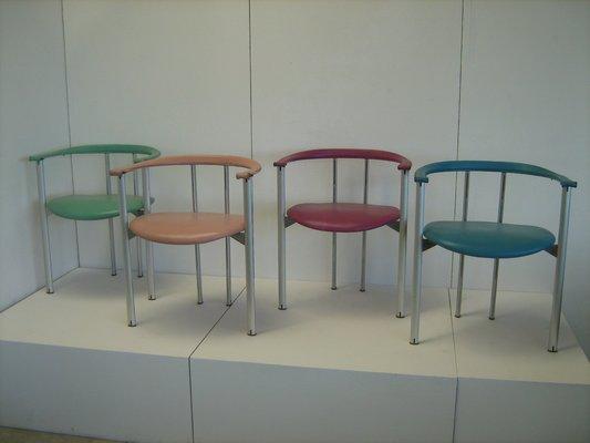 ialea leather chairs by antonio citterio paolo nava for b b italia