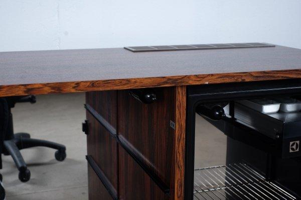 Credenza Con Frigo Bar : Mobile frigobar moderno in quercia noce mister by daniel