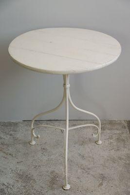 Gartentisch Aus Holz Und Eisen 1900er Bei Pamono Kaufen
