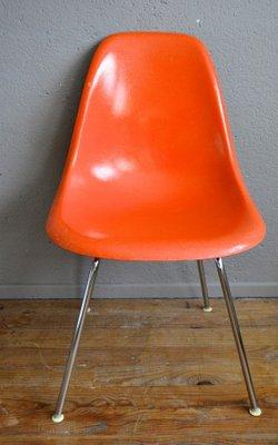Chaises DSX Fibres De Verre Par Charles Ray Eames Pour Herman Miller 1950s