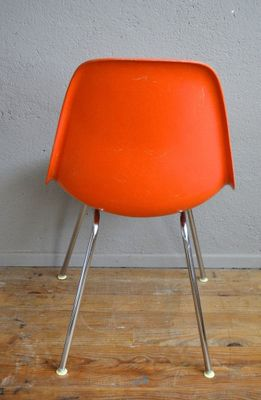 DSX Fiberglass Chairs By Charles U0026 Ray Eames For Herman Miller, 1960s, Set  Of