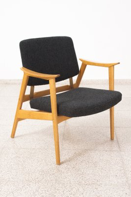 Exceptionnel Swedish Chair With Height Adjustable Seat, 1950s 1