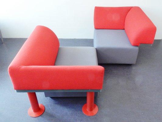 Artifort Design Bank.Vintage Model 960 Quadrio Lounge Chair By Michael Mccoy For