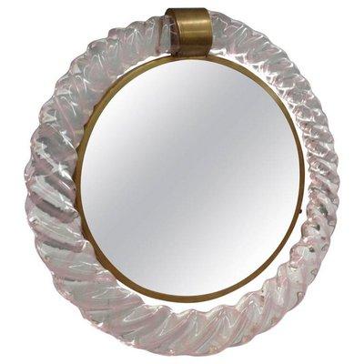 Vintage Murano Glass Vanity Mirror for sale at Pamono