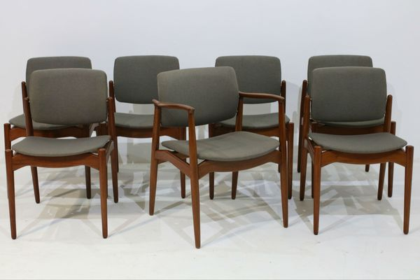 Dining Chairs Armchair By Erik Buch For Orum Mobler