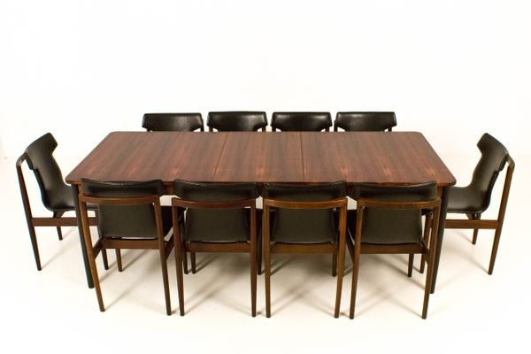 Mid Century Modern Large Extendable Dining Table From Fristho, 1960s 2