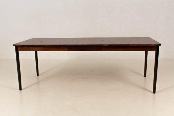 MidCentury Modern Large Extendable Dining Table From Fristho S - Mid century modern dining table with leaf