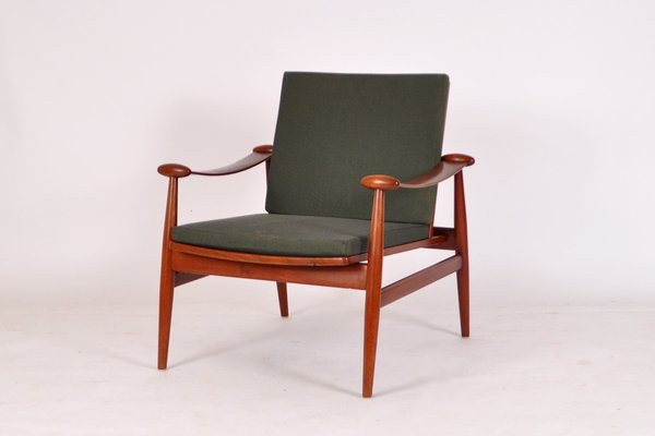 Model FD 133 Easy Chair by Finn Juhl for France u0026 Daverkosen ... : finn juhl chair - Cheerinfomania.Com