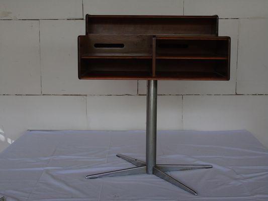 Bureau en acier et bois de fimsa italie 1960s en vente sur pamono