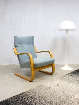 Magnificent Model 401 Lounge Chair By Alvar Aalto For Artek 1960S Pabps2019 Chair Design Images Pabps2019Com