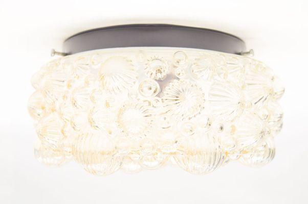 Lampada da parete color ambra anni in vendita su pamono
