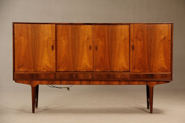 Mid Century Danish Credenza : Mid century danish rosewood credenza with bar cabinet s for