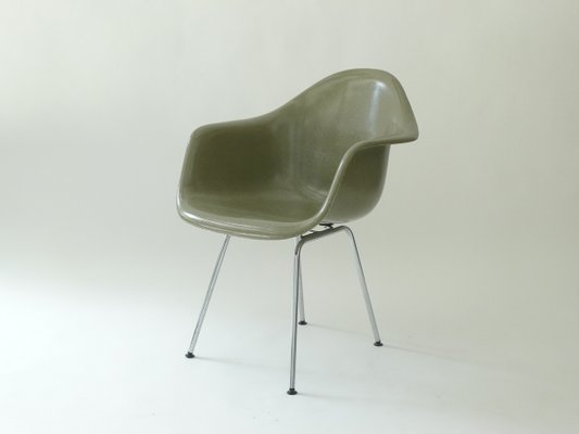 Vintage Herman Miller Chairs >> Vintage Dax Armchair By Charles Ray Eames For Herman Miller