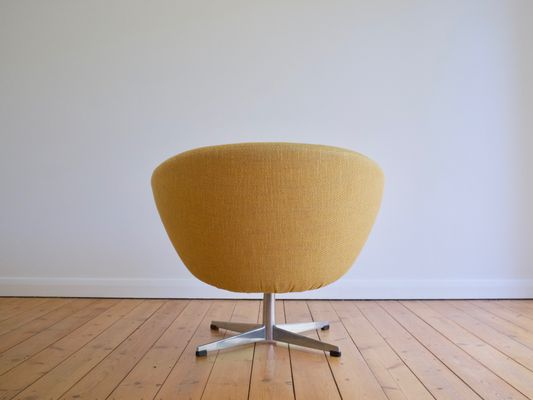 Swedish Swivel Lounge Chair From Overman AB, 1960s 4
